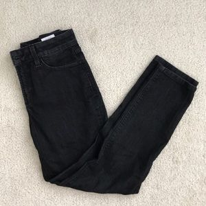 NYDJ Black stretch Lift and Tuck Ankle jeans